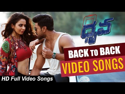 Dhruva Movie || Back to back || Full Video Songs || Ram charan, Rakul Preet