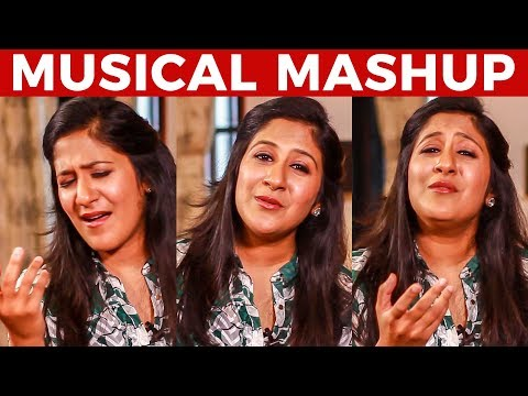Shweta Mohan's Amazing Musical Mashup | Super Singer