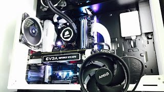 Ryzen 7 1700 Wraith Spire Cooler Vs Corsair H105 Hydro Liquid Cooler Temperature