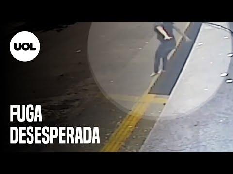 Mulher pula do 1º andar de prédio para fugir de estupro em Goiânia