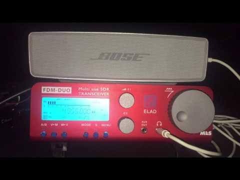 200 metre Beverage: Radio Cultural Amauta 4955 kHz Peru, best SNR to-date