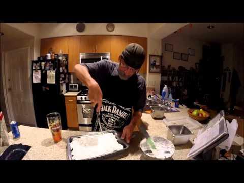 Pineapple Angel Food Cake Part 2