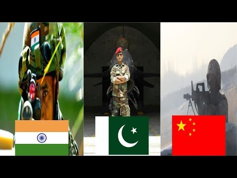Indian Army Vs China Army Vs Pakistan Army | Nuclear Weapons | 2018