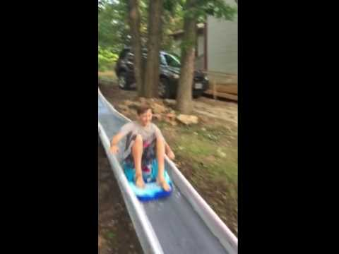 Dresden body board water slide
