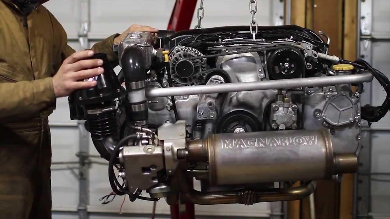 Subaru Ee20 360 Look Before Volkswagen T3 Vanagon Install
