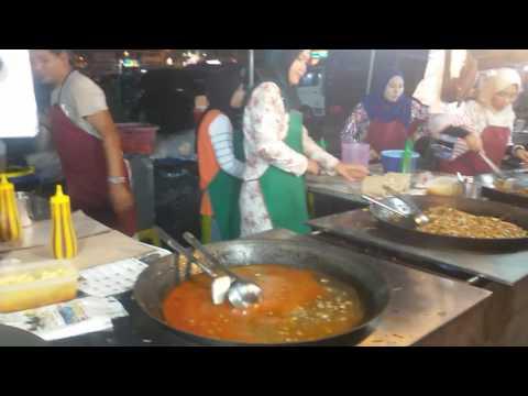 Melaysia food, mee goreng kawan, pasar malam Dungun Ganu
