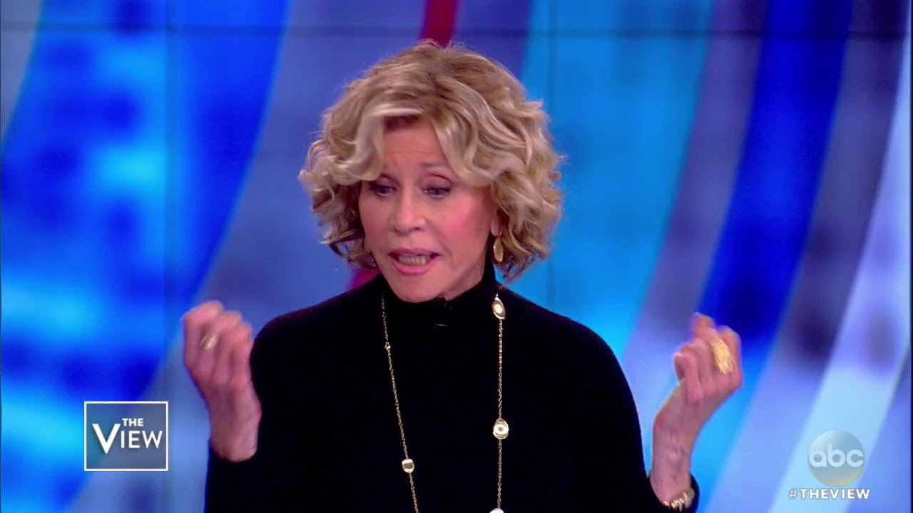 Jane Fonda Reflects On Backlash To Her Protests Of The Vietnam War | The View