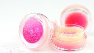 DIY Sparkling Lip Balm Recipe