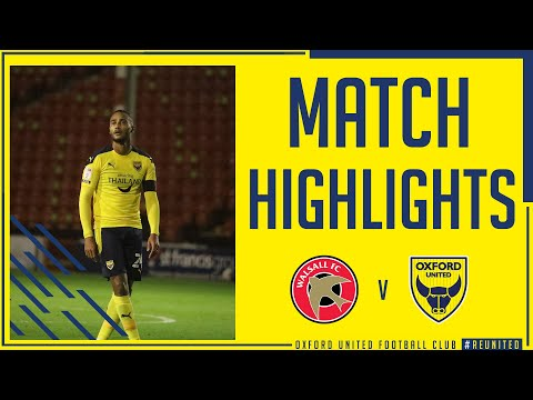 Walsall Oxford Utd Goals And Highlights