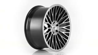 TSW Alloy Wheels- the Casino 20x10 in Gloss Black with Mirror Cut Face
