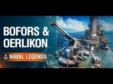Bofors and Oerlikon