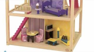 Dom Dla Lalek - So Chic Dollhouse - Kidkraft # 65078 Wonder Toy Zabawki