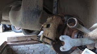 VW Passat B3 B4 ступичный подшипник задний замена своими руками