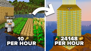 What it took to Build the Biggest Food Farm in Minecraft