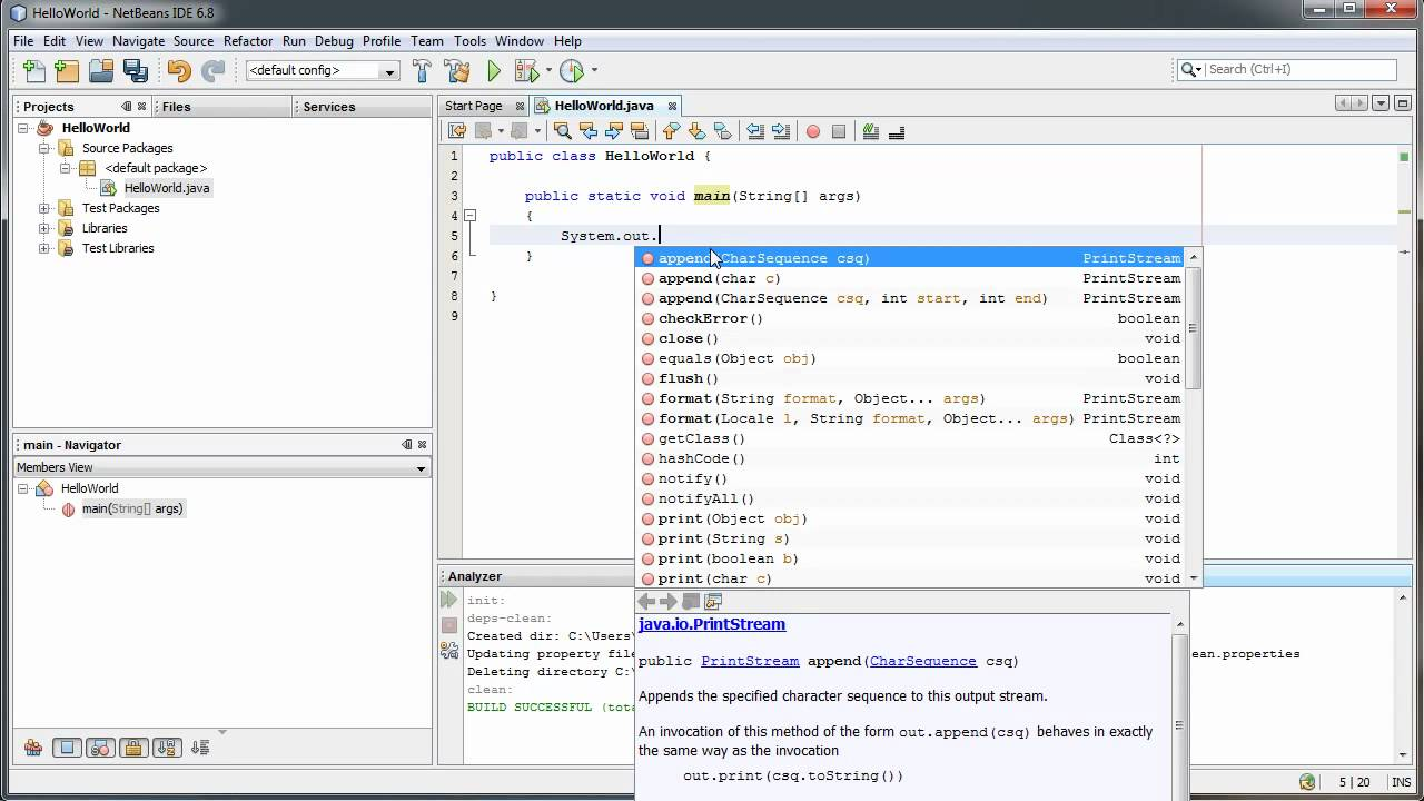 Writing your first program in java hello world java video writing your first program in java hello world java video tutorials quackware youtube baditri Image collections