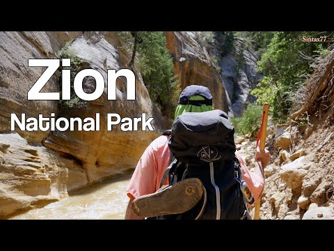 Zion National Park - Hiking, Camping & Backpacking
