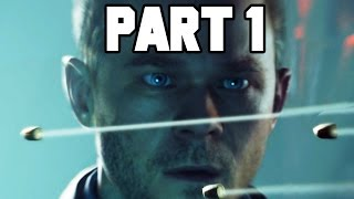 Quantum Break Gameplay Walkthrough Part 1 - INTRO & FULL GAME!! (XB1 1080p HD)