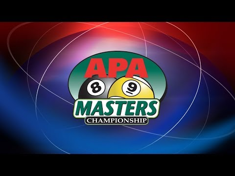 2017 APA Masters Championship LIVE  World Pool Championships  American Poolplayers Association