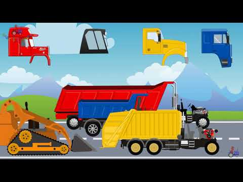 We Study Cars, Construction Equipment, Transport And Machine | Video For Everyone