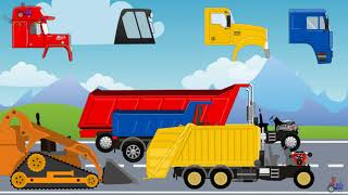 We study Cars, Construction Equipment, Transport and Machine | Video for kids