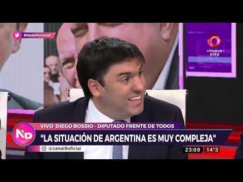 Diego Bossio elogia a Fernández