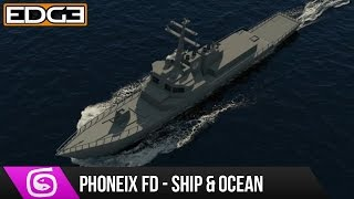 3Ds Max & Phoenix FD Tutorial - Ship in Ocean HD