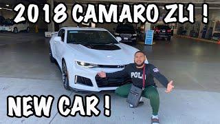 BUYING MY DREAM CAR AT 20 CAR 2018 CAMARO ZL1 !