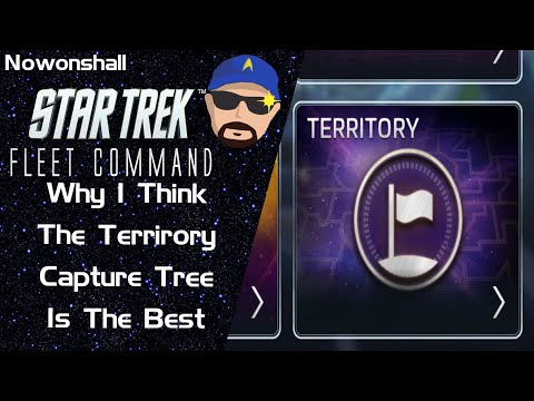 Star Trek - Fleet Command - Why I Think The Territory Research Tree Is The Best