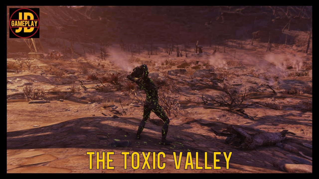 Fallout 76 Wastelanders - 1440p - Part 14 - The Toxic valley