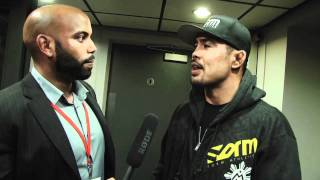 WHOA! TV's Dean Amasinger speaks with UFC 138's main event winner M...