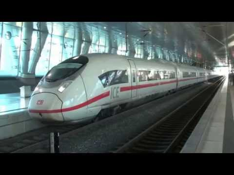 ICEs at Frankfurt Airport Station - 21st October 2014