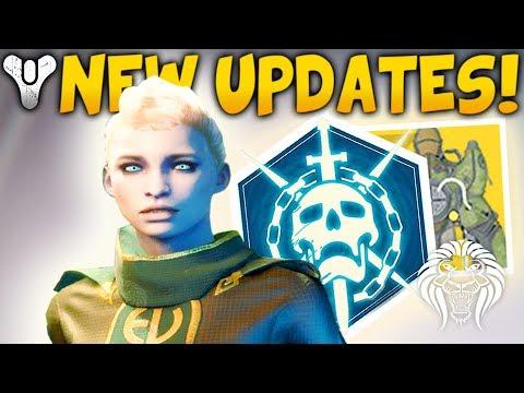 Destiny 2: NEW UPDATES & CHANGES! Master Exotics, Vault Space, Rumble, 6v6 & Eververse Fixes