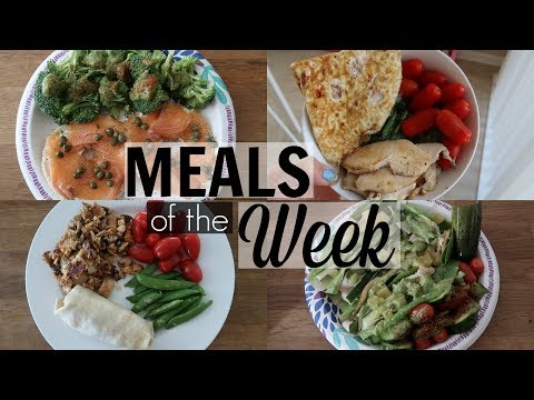 Healthy Meals of the Week #1 - SRV #199 | Sarah Rae Vlogas |