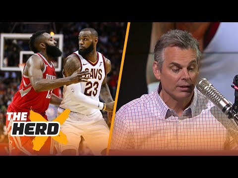Colin Cowherd on Harden, LeBron and Embiid: 'Durability matters' | THE HERD