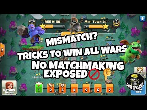 WAR LEAGUE Mismatch?   Match Making Explained   CLASH OF CLANS
