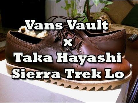 2e4d395995 Vans Vault x Taka Hayashi Sierra Trek Lo LX (Horween Brown) Review ...
