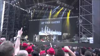 At The Gates - City of mirrors + Suicide nation, Live @ Rock in Roma - 16/06/2015