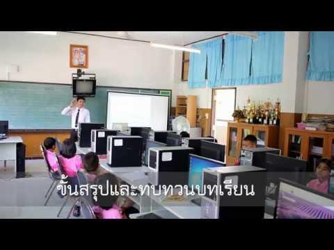 ขั้นตอนการสอนการ เปิด-ปิด โปรแกรม Microsoft Word ชั้นป.2
