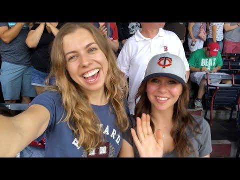 Американский выходной: идём на бейсбол, Boston Red Sox! Гарвард влог 29 июля 2018