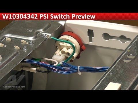 PSI Switch -- Maytag MHW6000XW Washer -- F20 Error Code