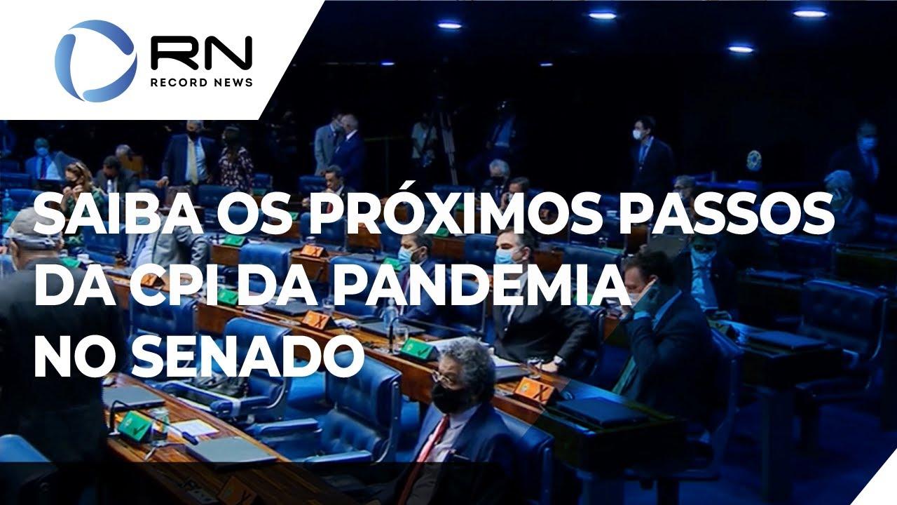 Entenda os próximos passos da CPI da Pandemia no Senado