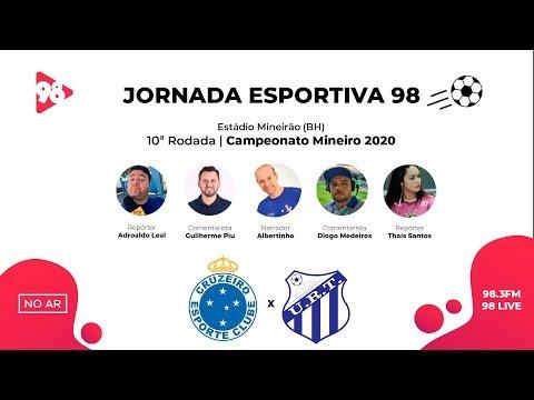 TRANSMISSÃO AO VIVO - CRUZEIRO x URT - CAMPEONATO MINEIRO - RÁDIO 98FM