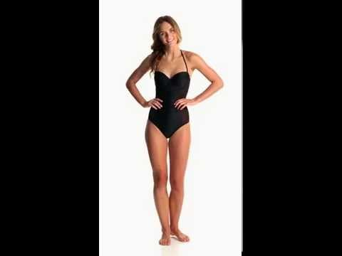 MINKPINK Black Dahlia One Piece Swimsuit | SwimOutlet.com