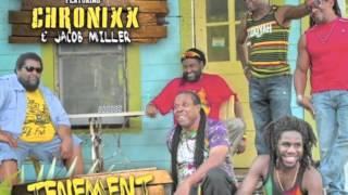 INNER CIRCLE CHRONIXX & JACOB MILLER   TENEMENT YARD NEWS CARRYIN' DREAD   DUBSHOT RECORDS   SOUND B