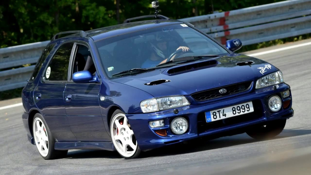 Subaru Impreza Gt Wrx 2000 Turbo Gf8 Gc8 2015 Season