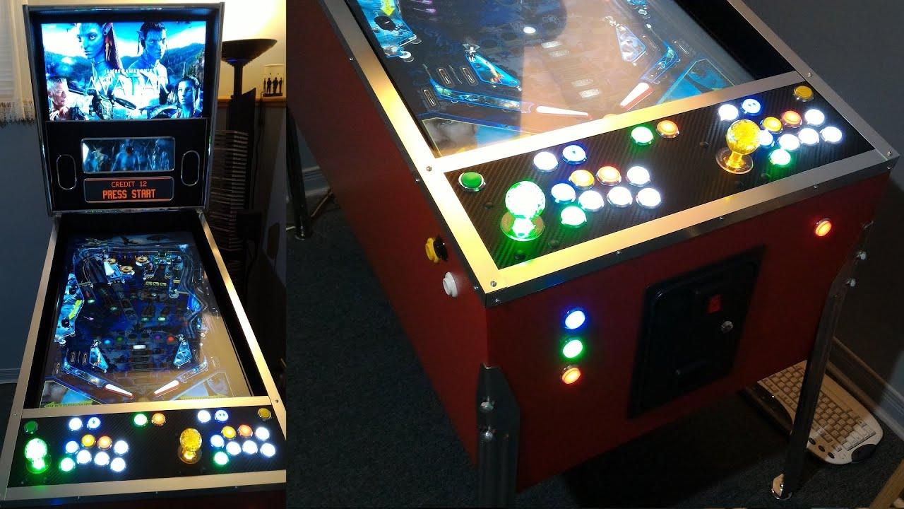 PinKadia! The Ultimate Virtual Pinball and Arcade combo cabinet ...