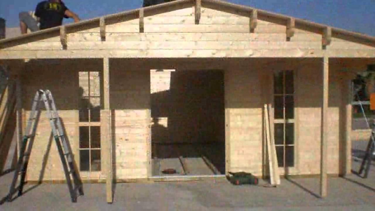 Construcci n de casas y caba as de madera en c ceres y for Construccion de casas