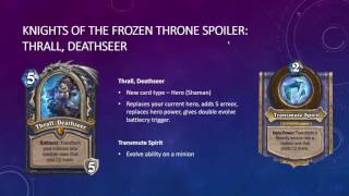 Knights of the Frozen Throne Spoiler - Thrall, Deathseer