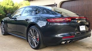 2017 Porsche Panamera Turbo just arrived - Very Crispy!  Vlog #13.  3-27-17