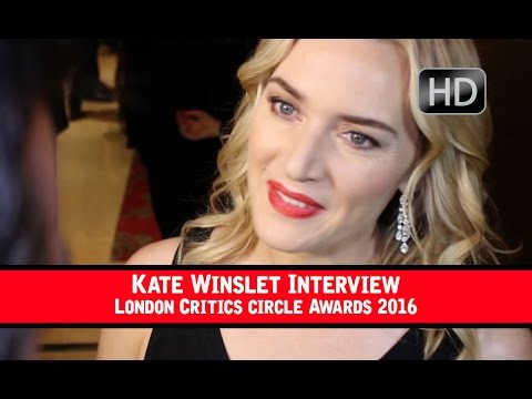 Kate Winslet London Film Critics Circle Awards Interview 2016 (HD)